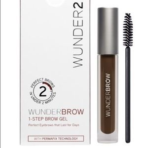 WUNDER2 WUNDERBROW 1-STEP BROW GEL- BLACK/BROWN